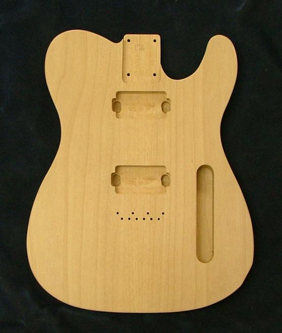 two piece alder tele body guitar body best guitar parts. Black Bedroom Furniture Sets. Home Design Ideas
