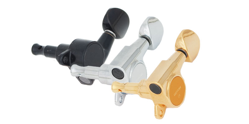 Gotoh Mini Tuning Keys, 3 x 3 Dimensions