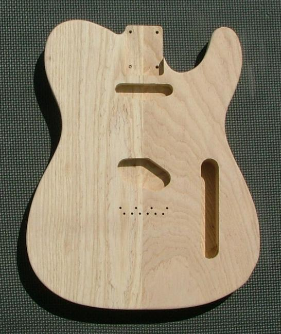two piece swamp ash tele body guitar body best guitar parts. Black Bedroom Furniture Sets. Home Design Ideas