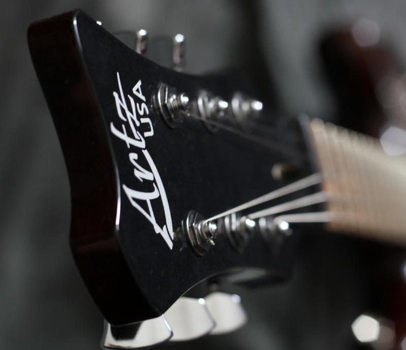 Artz Black Korina Zonk Guitar Image