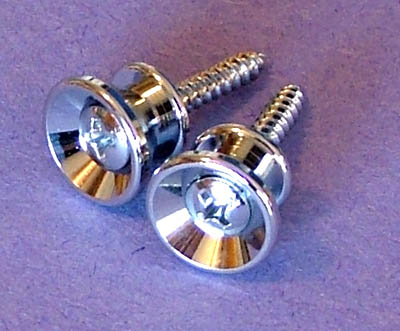 Strap Buttons (2) With Screws Dimensions