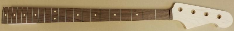 U4 Maple/Rosewood Bass Neck Image