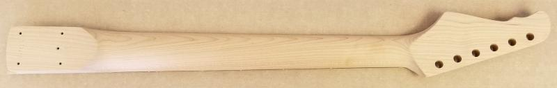 S6 24 fret roasted maple Guitar Neck Image