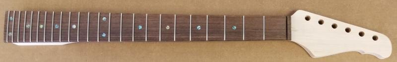 S6 24 fret maple/rosewood Guitar Neck  Image
