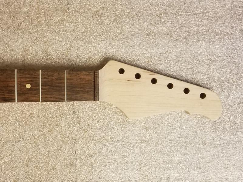 S6 Maple/Rosewood Guitar Neck Image