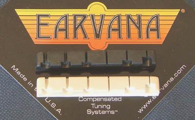 """Earvana Fender®  LSR """"OEM"""" Nut Dimensions"""