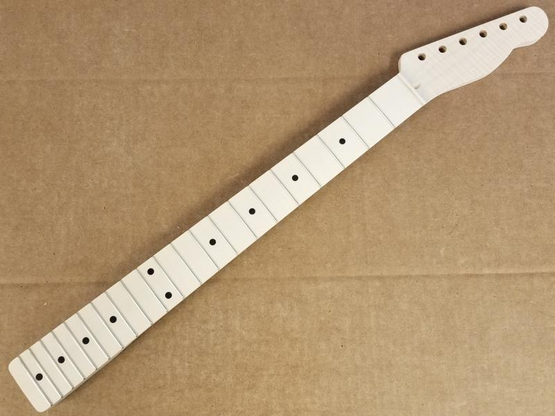 Quartersawn Flame Maple U1 Guitar Neck Image