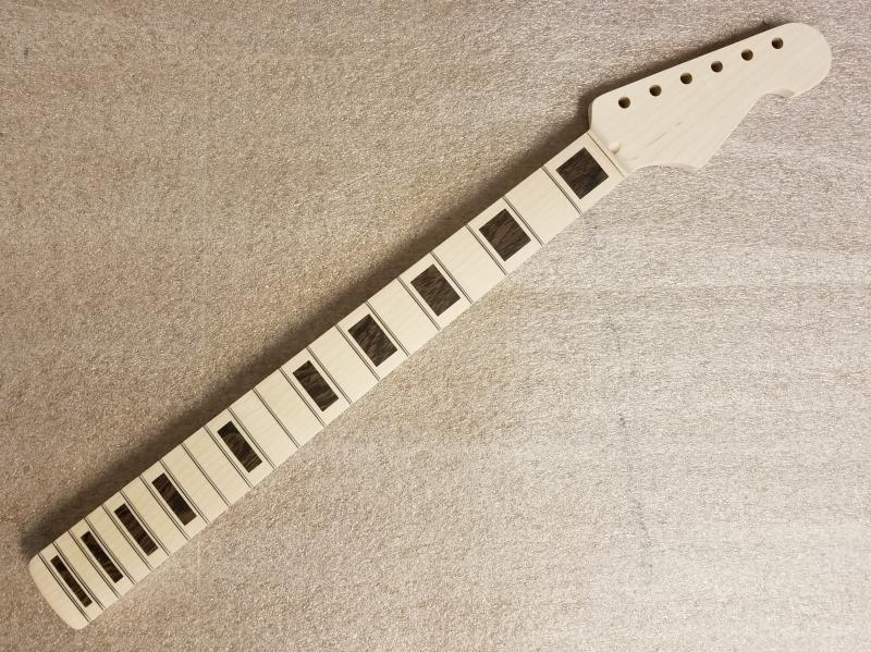 U2 (strat style)  Maple Guitar Neck Image