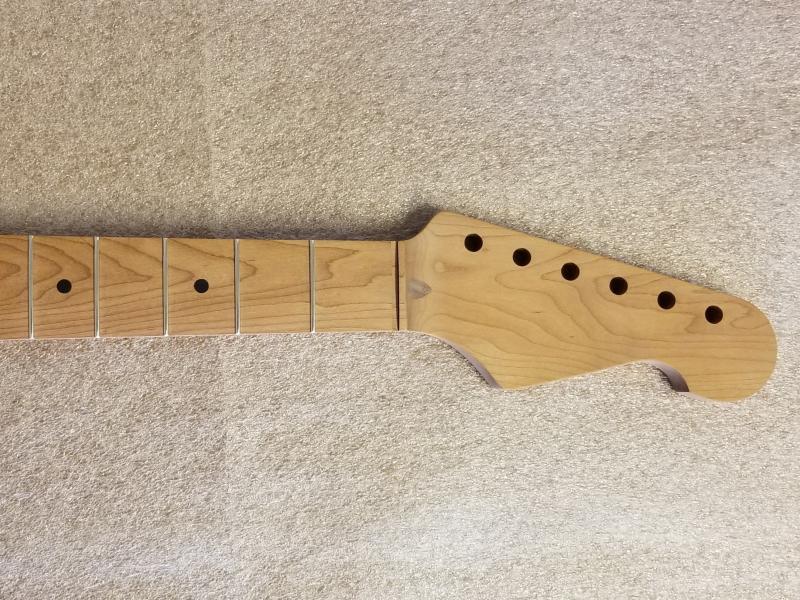 1 pc  Roasted Maple U2/Strat Guitar Neck Image