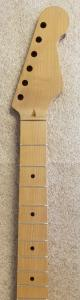Quartersawn Roasted Maple U2/Strat Guitar Neck Image