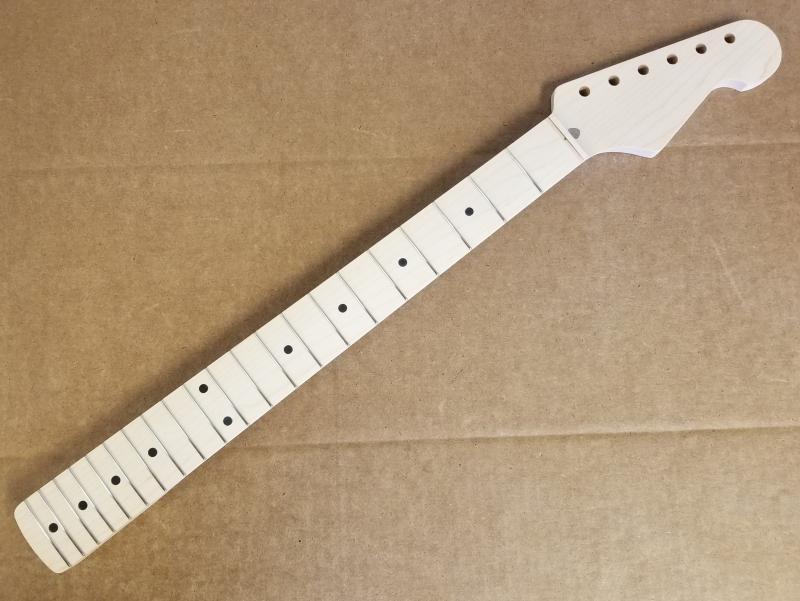 1 piece maple U2/Strat Guitar Neck Image