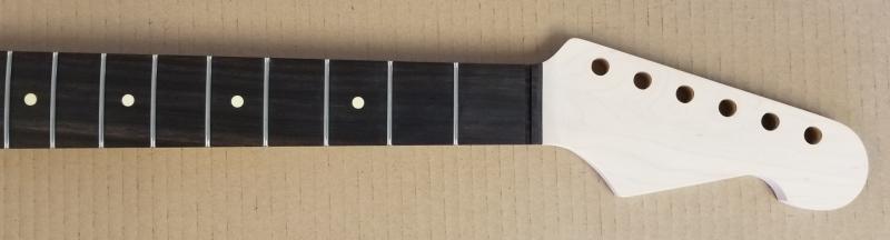Maple/Black Ebony U2 Strat Guitar Neck Image