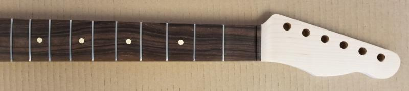 Maple/Macassar Ebony U1 Tele Guitar Neck Image