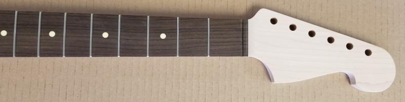 Maple/Rosewood JM6 Guitar Neck Image