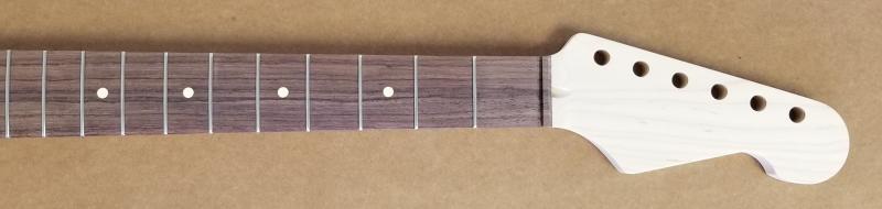 Maple/Rosewood U2 Strat Guitar Neck Image