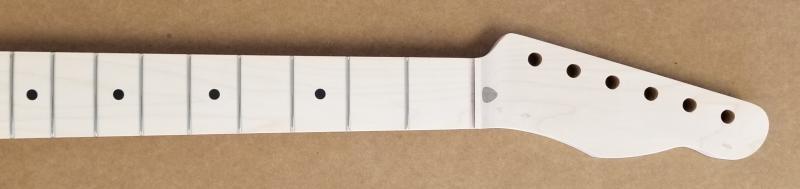 1pc Maple U1/Tele Guitar Neck Image