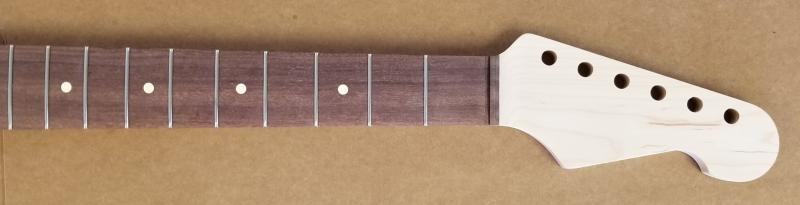 Maple/Katalox U2/Strat Guitar Neck Image