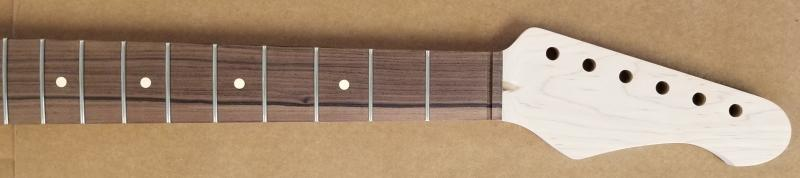 Maple/Pau Ferro 24 fret R6 Guitar Neck Image