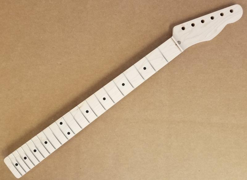 1pc Maple U1/Tele Guitar Neck Image