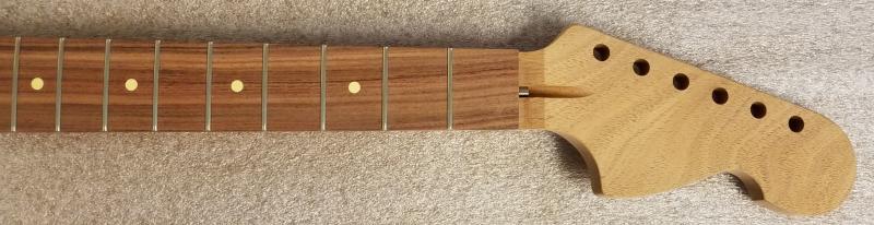 Mahogany/Pau Ferro U3/Strat Tilt Back Guitar Neck Image