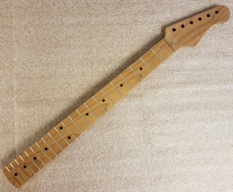 1pc Roasted Maple R6 Guitar Neck Image