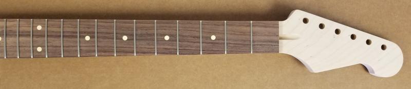 Maple/Rosewood U2 Strat Tiltback Guitar Neck Image