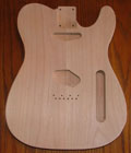 Telecaster® Alder Electric Guitar Body