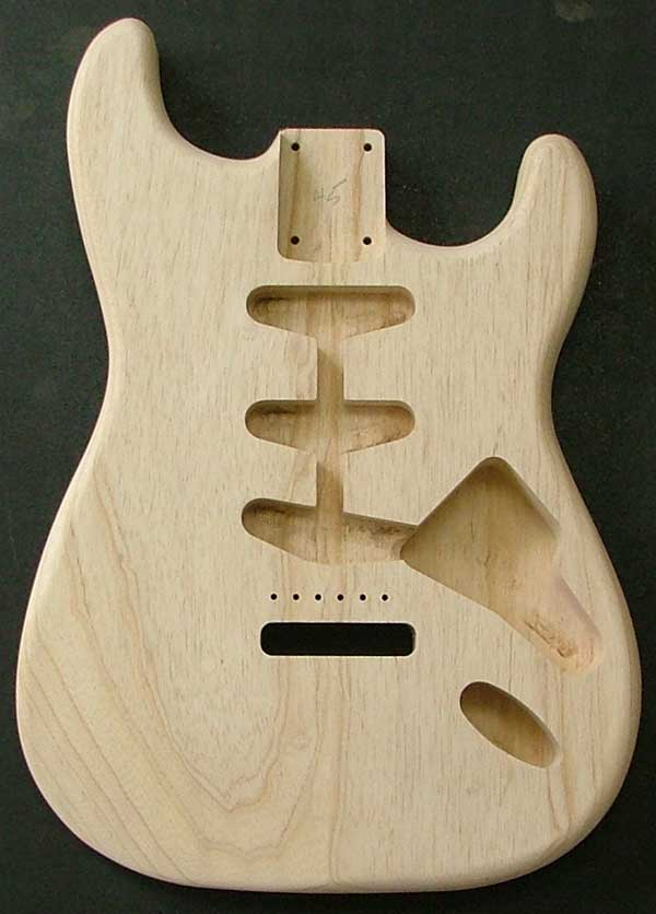 Stratocaster 174 Swamp Ash Electric Guitar Body Guitar